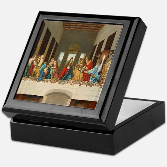 Disciple Dog Last Supper Keepsake Box