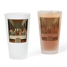 Disciple Dog Last Supper Drinking Glass