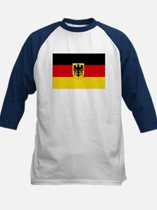 German COA flag Kids Baseball Jersey