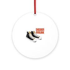Sneaker Freak Ornament (Round)