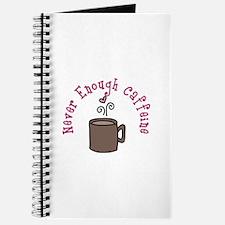 Never Enough Caffeine Journal