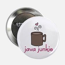 """Java Junkie 2.25"""" Button"""