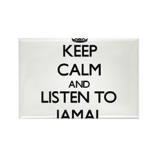 Keep Calm and Listen to Jamal Magnets