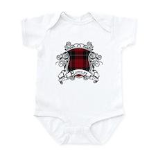 Ramsay Tartan Shield Infant Bodysuit