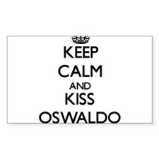 Keep Calm and Kiss Oswaldo Decal