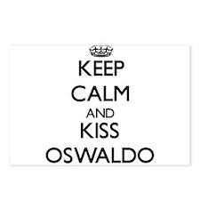 Keep Calm and Kiss Oswaldo Postcards (Package of 8