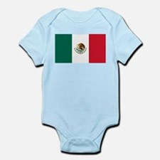 Mexican Flag Infant Bodysuit