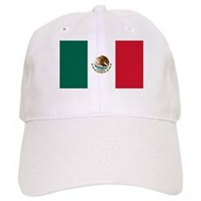 Mexican Flag Baseball Cap