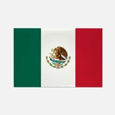 Mexican Flag Rectangle Magnet