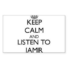 Keep Calm and Listen to Jamir Decal