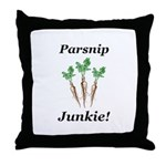 Parsnip Junkie Throw Pillow