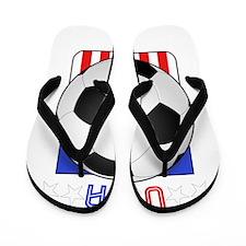 USA Shield Flip Flops