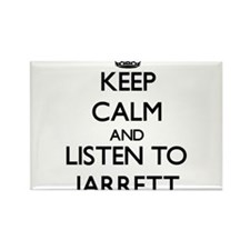 Keep Calm and Listen to Jarrett Magnets