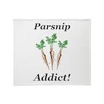 Parsnip Addict Throw Blanket