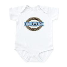 Proud Delaware native Infant Bodysuit