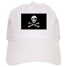 Pirate Skull With Eyepatch Baseball Cap