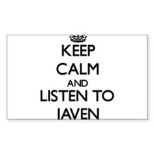 Keep Calm and Listen to Javen Decal