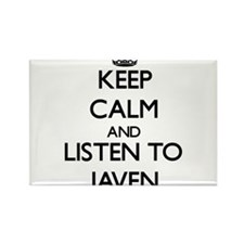 Keep Calm and Listen to Javen Magnets