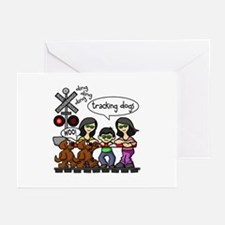Tracking Dogs Greeting Cards (Pk of 20)