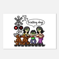 Tracking Dogs Postcards (Package of 8)