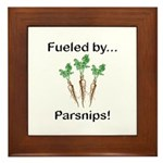 Fueled by Parsnips Framed Tile