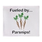 Fueled by Parsnips Throw Blanket