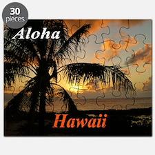 Sunset North Shore Oahu Puzzle