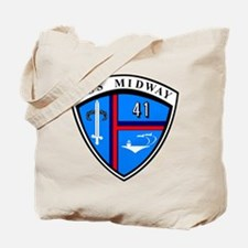 Uss Midway Cv-41 Tote Bag