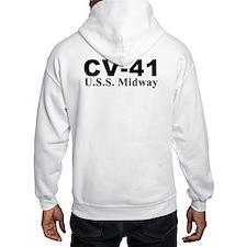 Uss Midway Cv-41 Hoodie