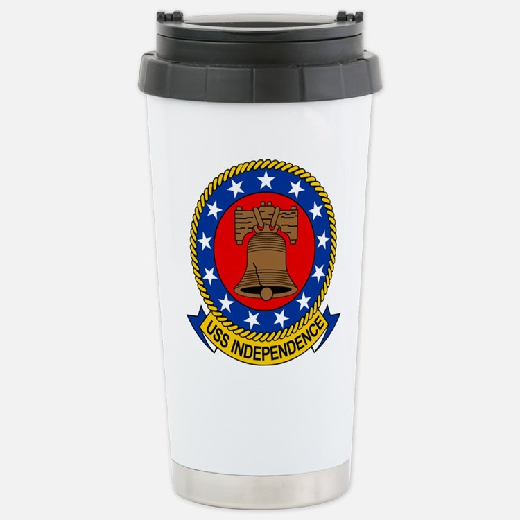 USS Independence CV-62 Travel Mug