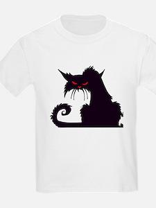 Angry Black Cat T-Shirt