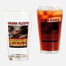 ASLEEP AGAIN Drinking Glass
