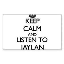 Keep Calm and Listen to Jaylan Decal