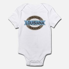 Proud Louisiana native Infant Bodysuit