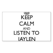 Keep Calm and Listen to Jaylen Decal