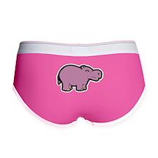 Purple Hippo Women's Boy Brief