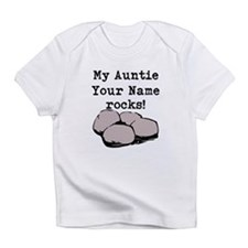 My Auntie Rocks (Custom) Infant T-Shirt