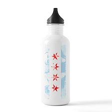 Chicago Flag Al Capone Water Bottle
