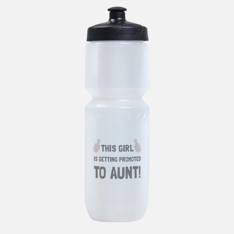 Promoted To Aunt Sports Bottle