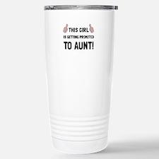 Promoted To Aunt Travel Mug