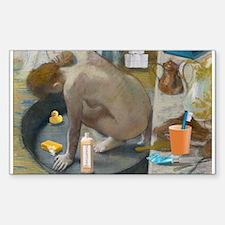 Degas: The tub nowadays Decal