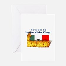 Burn This Flag Greeting Cards (Pk of 10)