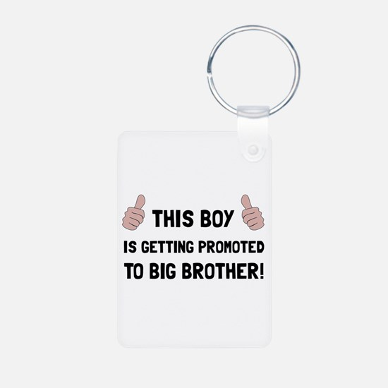 Promoted To Big Brother Keychains