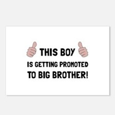 Promoted To Big Brother Postcards (Package of 8)