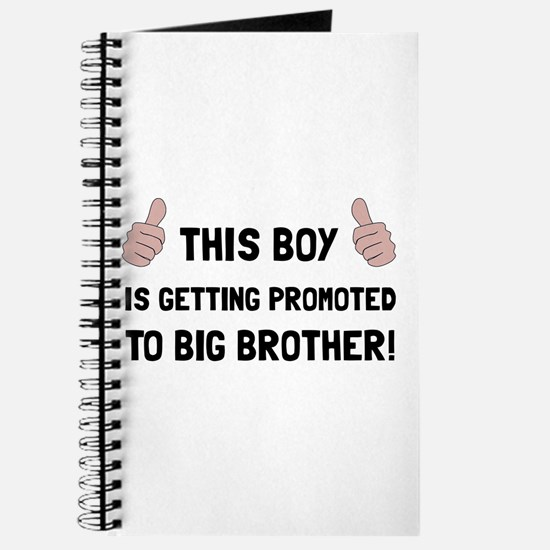 Promoted To Big Brother Journal