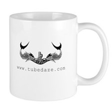 Tube Daze Dolphin Small Mug