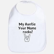 My Auntie Rocks (Custom) Bib
