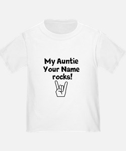 My Auntie Rocks (Custom) T-Shirt