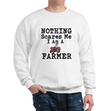 Nothing Scares me I Am A Farmer Jumper