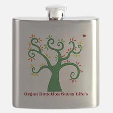 Organ Donation Tree Flask